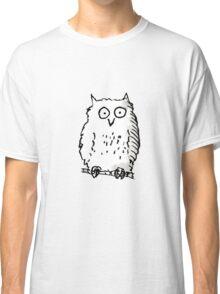 Lone Owl t-shirt Classic T-Shirt