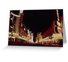 Las Vegas Strip Greeting Card