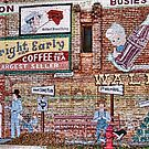 Wall of Recall in DeLeon, Texas by Susan Russell