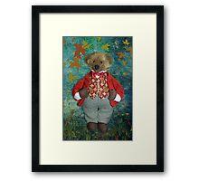 Smart Teddy Framed Print