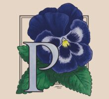 P is for Pansy - full image by Stephanie Smith