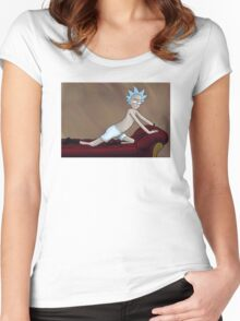 The Timeless Art of Science Women's Fitted Scoop T-Shirt