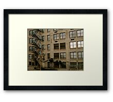 Chicago Apartments  Framed Print
