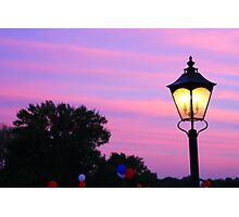 Cotton Candy Sky For A July 4th Night Photographic Print