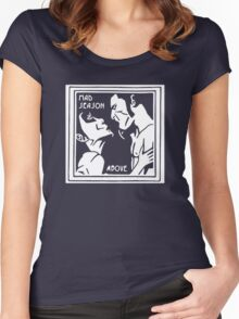 New Hot Mad Season Rock Band Above Grunge Cool Women's Fitted Scoop T-Shirt
