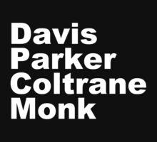 MILES DAVIS MONK VINYL PARKER Kids Tee