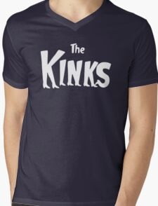 The Kinks Mens V-Neck T-Shirt