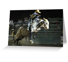 Sheriff Rodeo Greeting Card