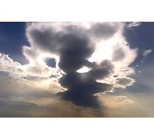 Cloud Over Irish Sea Photographic Print
