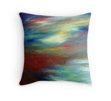 A Beautiful Storm... Throw Pillow