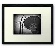 Science Behind Barbed Wire Framed Print
