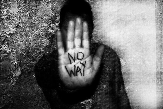 No Way by SquarePeg