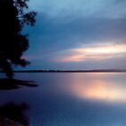 Lake Macquarie Sunset by Sharon Kavanagh