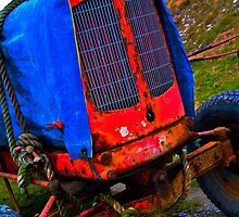 Red Tractor by Peter Stone