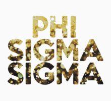 Phi Sigma Sigma Sparkles by alyssamio
