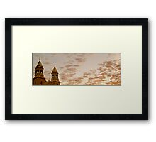 Religious Sunrise  Framed Print