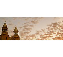 Religious Sunrise  Photographic Print
