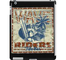 wave riders tiki bar iPad Case/Skin