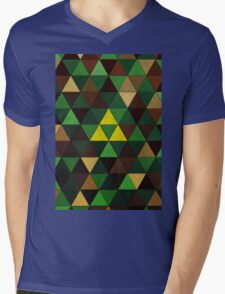 Triforce Quest Mens V-Neck T-Shirt
