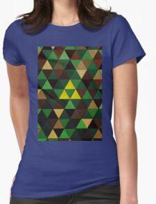 Triforce Quest Womens Fitted T-Shirt