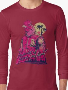 hotline miami richard Long Sleeve T-Shirt