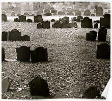 Boston Cemetery  Poster