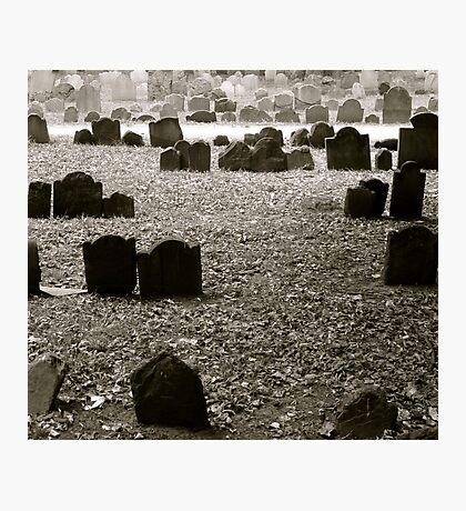 Boston Cemetery  Photographic Print