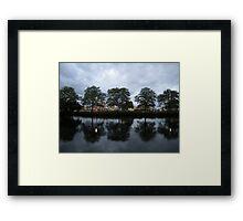 Boston Reflection  Framed Print