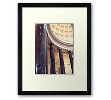 How ironic, they're ionic Framed Print