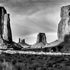 North Window, Monument Valley by TheBlindHog
