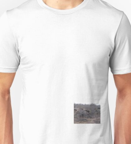 Elephant Herd, Limpopo, South Africa Unisex T-Shirt