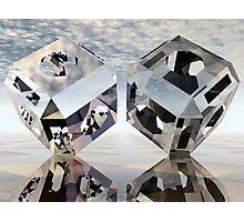 Refraction, Reflection, Tessellation Photographic Print