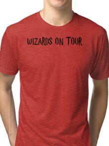 WIZARDS ON TOUR Tri-blend T-Shirt