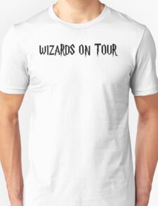 WIZARDS ON TOUR Unisex T-Shirt