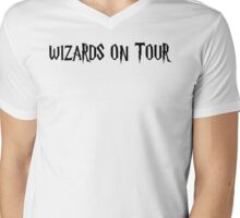 WIZARDS ON TOUR Mens V-Neck T-Shirt