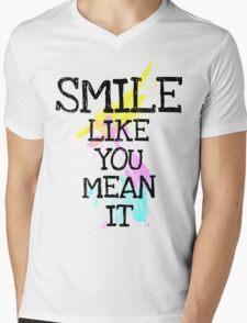 smile like... Mens V-Neck T-Shirt