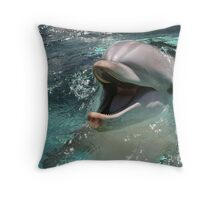 Wonderful Laughter Throw Pillow