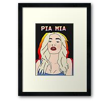 Princess Pia Mia Framed Print