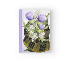 A Scottish Bouquet Watercolour Painting Hardcover Journal