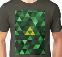 Triforce Quest (Green) Unisex T-Shirt