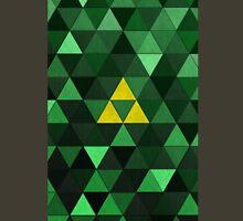 Triforce Quest (Green) T-Shirt