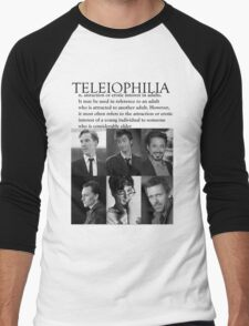 Teleiophilia Men's Baseball ¾ T-Shirt