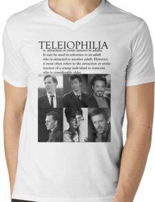 Teleiophilia Mens V-Neck T-Shirt