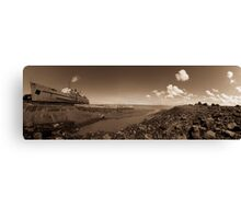 Rusty old liner  Canvas Print