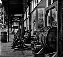 Barrelshop B&W by Ray Wells