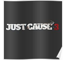 Just Cause 3 Logo Poster