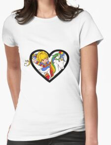 Brite Love Womens Fitted T-Shirt