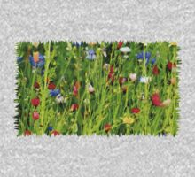Colourful Garden - JUSTART ©  Kids Tee