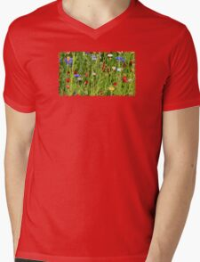 Colourful Garden - JUSTART ©  Mens V-Neck T-Shirt