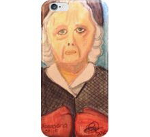 The Little Old Lady from Pasadena, CA iPhone Case/Skin